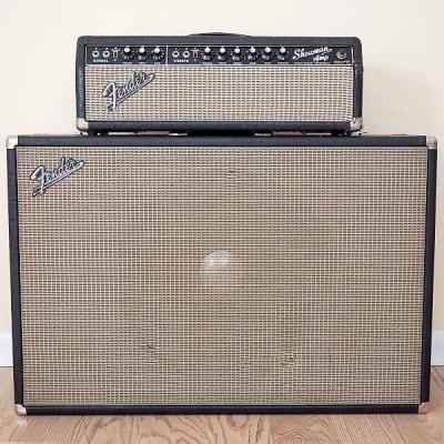 """Fender Showman 15 2-Channel 85-Watt 1x15"""" Piggyback Guitar Amp"""