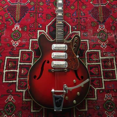 Harmony H78 1960 Redburst for sale