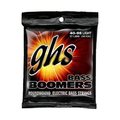 GHS L3045 Bass Boomers Light Bass Strings - 40-95