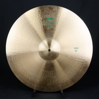 """Paiste 22"""" 505 """"Green Label"""" Ride Cymbal"""