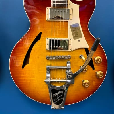 Gibson Johnny A Standard with Bigsby  2014 Sunset Glow for sale