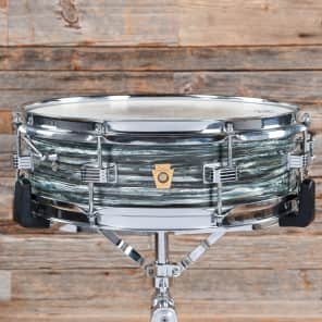 Ludwig 4x14 Downbeat Blue Oyster Pearl Early 1968 USED