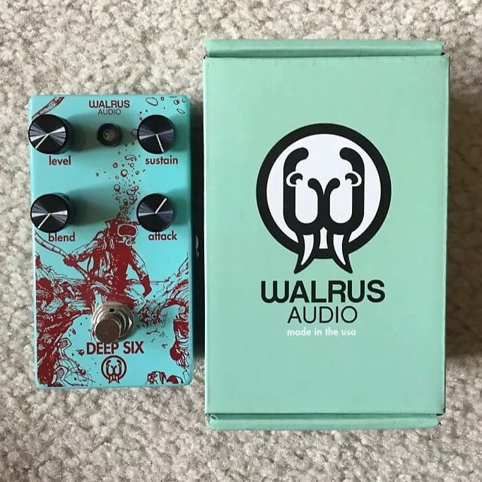 walrus audio deep six compressor northern gear supply reverb. Black Bedroom Furniture Sets. Home Design Ideas