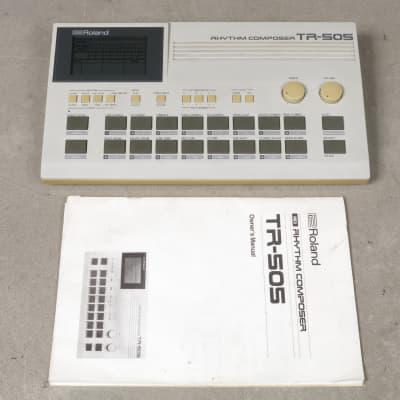 Roland TR-505 Rhythm Composer + owner's manual