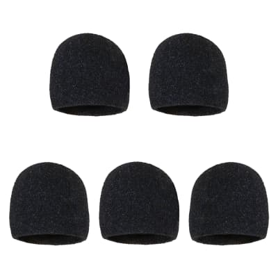 Microphone Inner Windscreen - 5 Pack - Fits Shure SM58, Beta 58A, SM48, PG58 & Others For Vocal Mic
