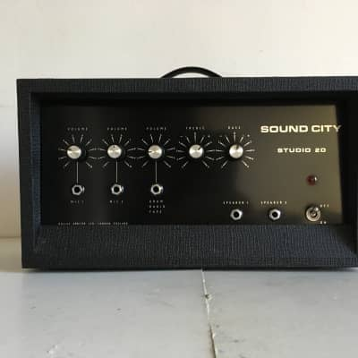 Sound City Studio 20 1967 Marshall 18 watt for sale
