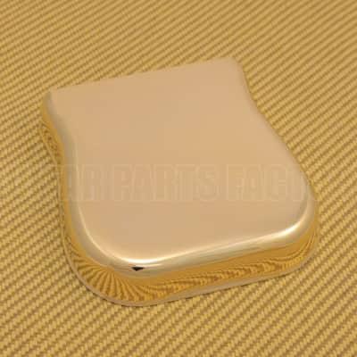 002-7706-000 Genuine Fender Gold Bridge Cover/Ashtray Vintage Telecaster/Tele image