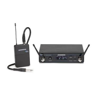 Samson Concert 99 Frequency-Agile UHF Wireless Guitar System - K Band (470–494 MHz)