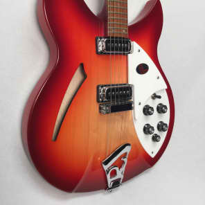 Rickenbacker 330 Double Cutaway Electric Guitar,  FireGlo for sale