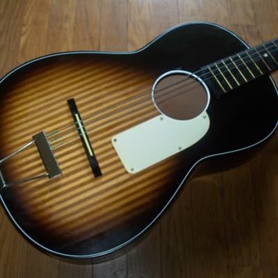 Norma Kay Style Parlor Guitar 1960 Burst