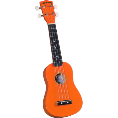 Diamond Head Rainbow Soprano Ukulele - Orange for sale
