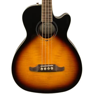 Fender FA-450CE Laurel Fingerboard Acoustic Bass - 3-Color Sunburst for sale