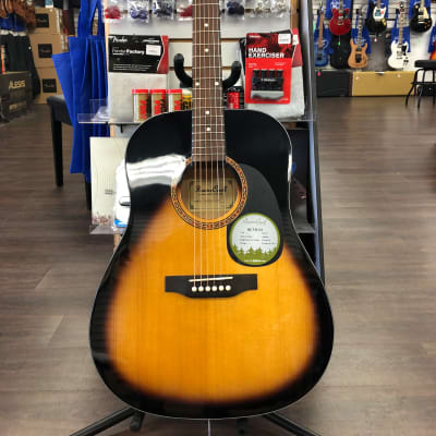 Beaver Creek BCTD101 Acoustic w/Bag Sunburst for sale