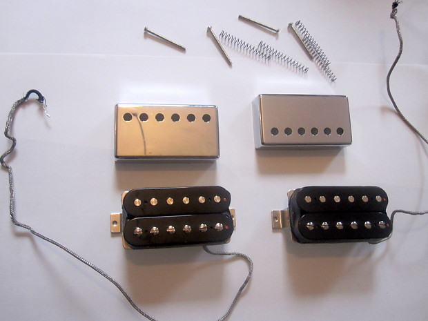 gibson open coil 490r and 490t humbucker pickups covers reverb. Black Bedroom Furniture Sets. Home Design Ideas