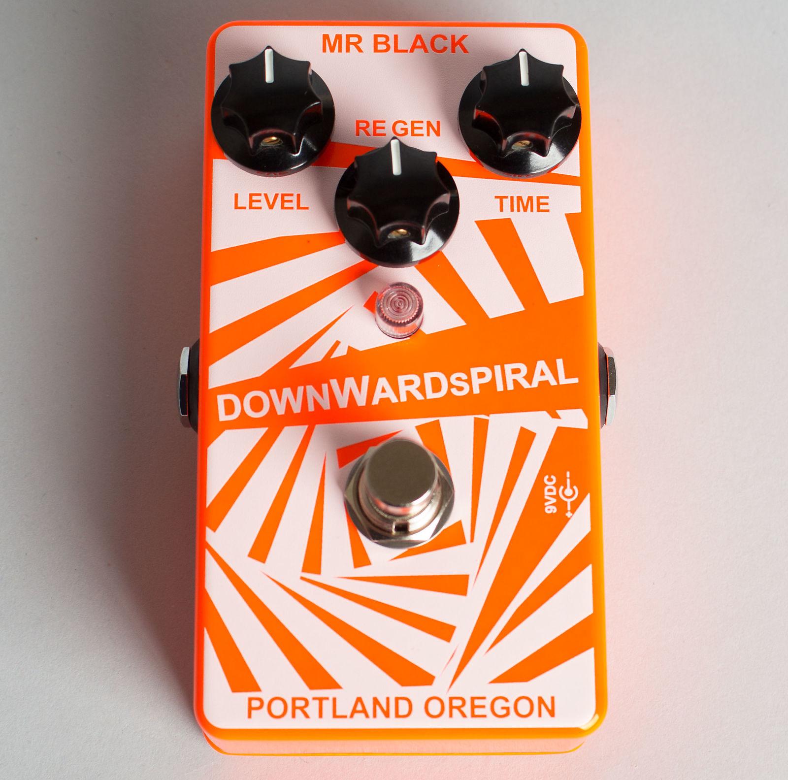Mr. Black Downward Spiral Delay Effect 2017