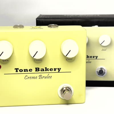 Tone Bakery Creme Brulee Overdrive Pedal