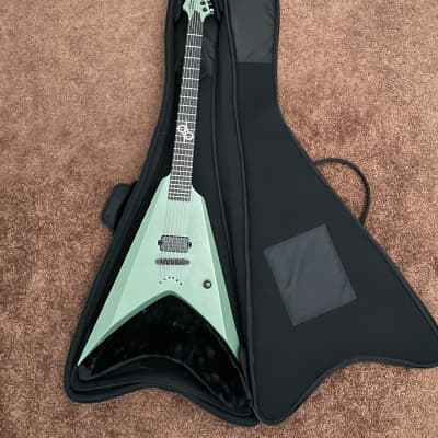 Solar V2.6AG – Army Green (with locking tuners) free set of strings 012 for sale