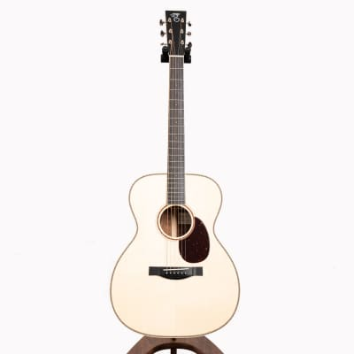 Santa Cruz OM Custom Acoustic Guitar, Flamed Koa & Italian Spruce for sale
