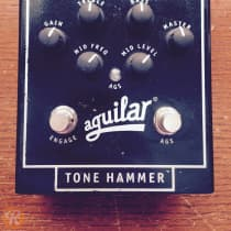 Aguilar Tone Hammer Preamp/Direct Box 2010s Black image