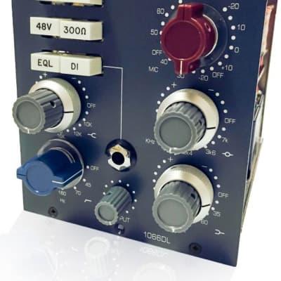 BAE 1066DL 500 Series Mic/Line Preamp W EQ