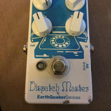 EarthQuaker Devices Dispatch Master White