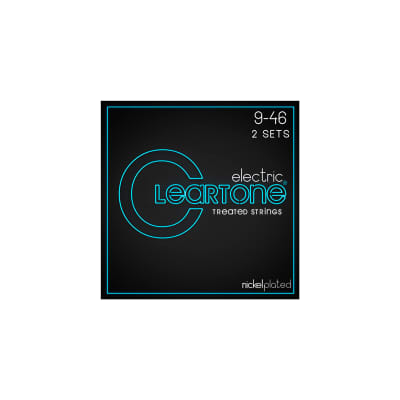 Cleartone 9419-2 Nickel Plated Electric Strings 09-46 2 Sets