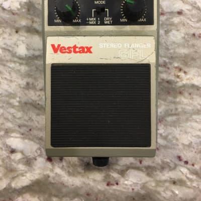 Vestax SFL Stereo Analog Flanger Rare Vintage Guitar Effect Pedal MIJ Japan for sale