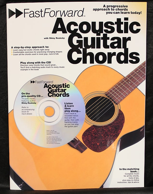 Fast Forward: Acoustic Guitar Chords Method Softcover w/CD TAB