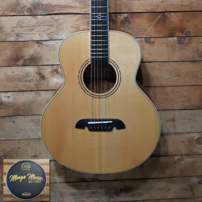 Alvarez Alvarez LJ2E little jumbo travel acoustic. Gig bag included. for sale