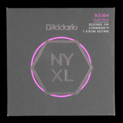 D'Addario NYXL09564SB Strandberg 7-String Set Super Light