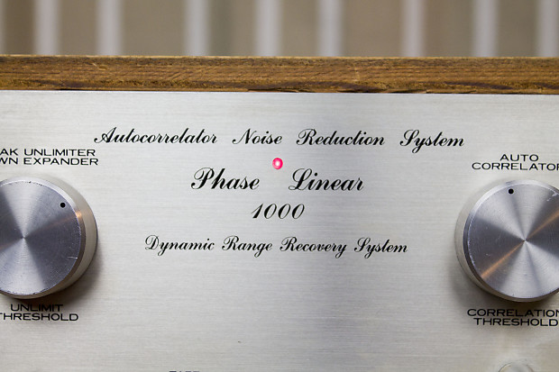 Phase Linear Auto Correlator Noise reduction system- Model 1000 w/ wood  case- 1970s