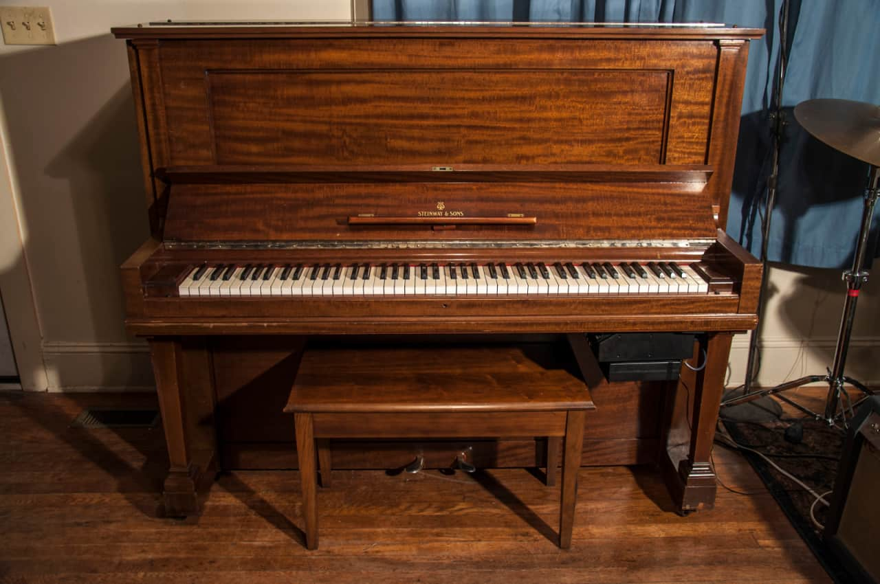 steinway 1910 vertegrand upright grand piano abbey reverb. Black Bedroom Furniture Sets. Home Design Ideas