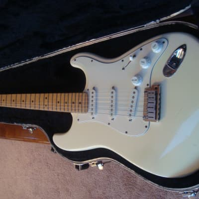 1994 Fender 40th Anniversary American Standard Stratocaster in Olympic White for sale
