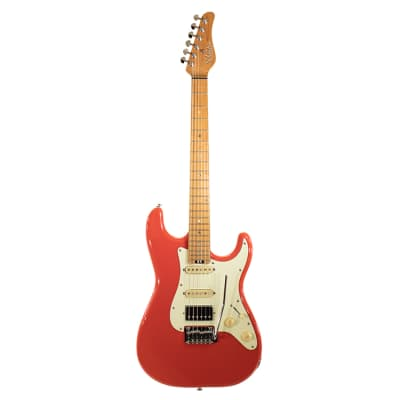 Schecter Traditional Route 66 HSS Sunset Red for sale