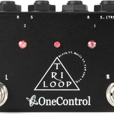 One Control Tri Loop Switcher Guitar Effects Looper Switch Pedal