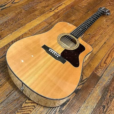 Gibson Songmaker Dreadnought Quilt Maple CE 2008 - 2010