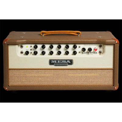 MESA/Boogie Lone Star Special Head - Cocoa Bronco Vinyl Tan Jute Grille for sale