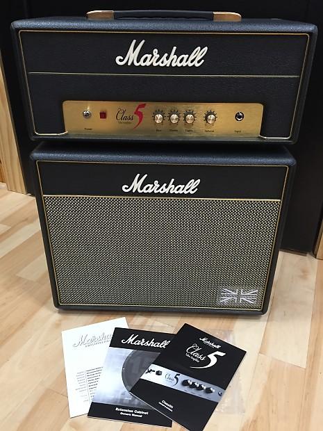 Marshall Class 5 Head & Cabinet w/ Nice Covers, Box & | Reverb