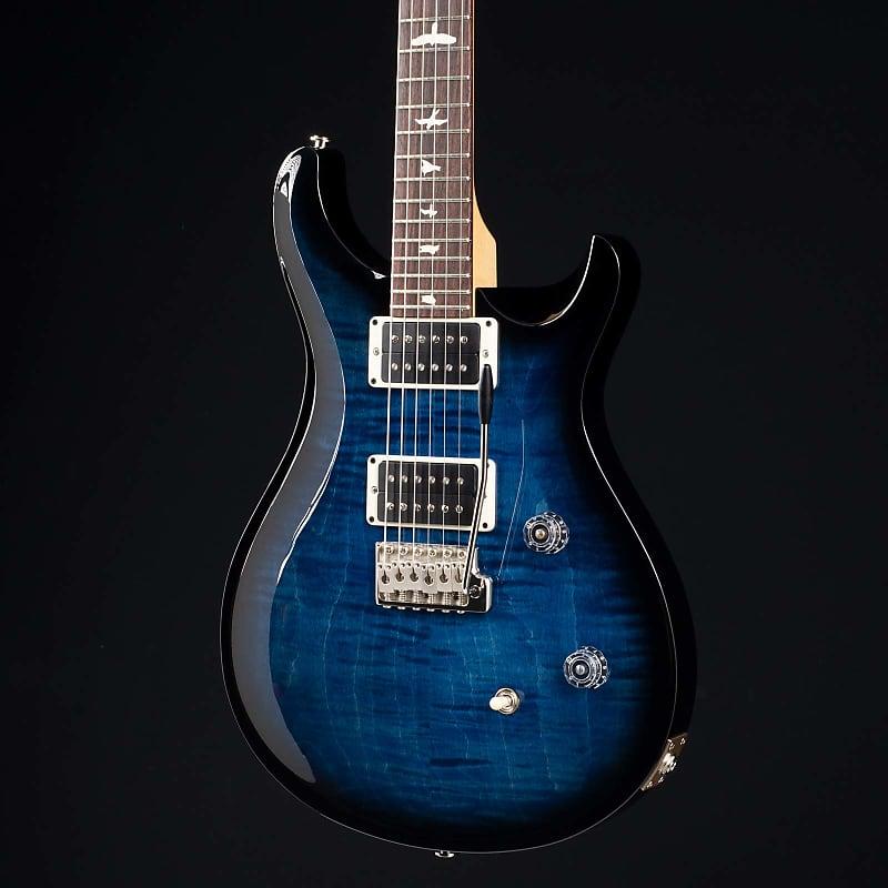 prs ce 24 whale blue smokewrap burst 5441 moore guitars reverb. Black Bedroom Furniture Sets. Home Design Ideas