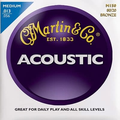 Martin 80/20 Acoustic Strings Bronze Medium  13 - 56 for sale