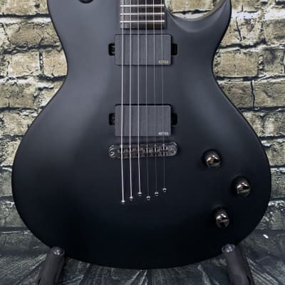 Used Washburn PXL10EC Parallaxe Singlecut - Carbon Black for sale