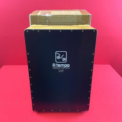 [USED] A Tempo Percussion Tocador Flamenco Cajon w/Gig Bag (See Description)