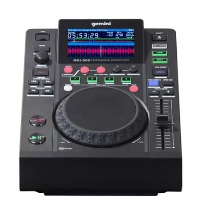 Gemini MDJ500 USB Media Player and MIDI Controller