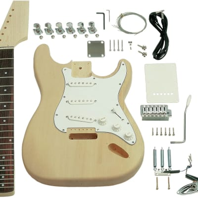 Saga ST-10 Electric Guitar Kit - S Style for sale
