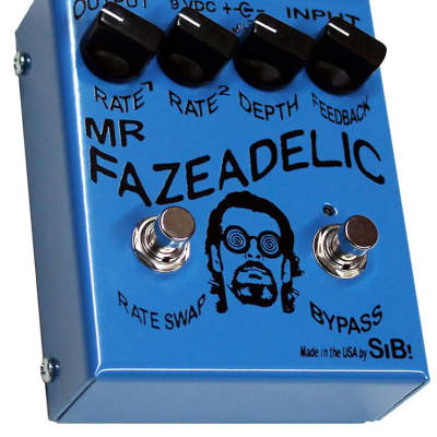SIB Effects Fazeadelic Phase Shifter pedal