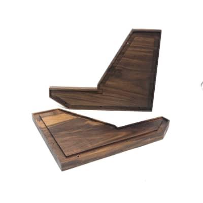 Korg Korg MS-20 & MS-10 Synth Wood Side Panels Walnut