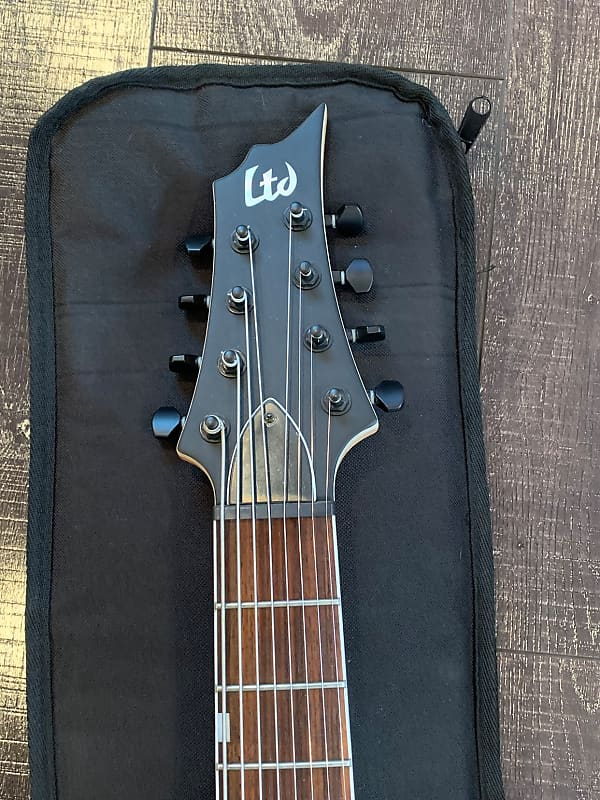 h 338 8 string with fishman fluence pickups with case reverb. Black Bedroom Furniture Sets. Home Design Ideas