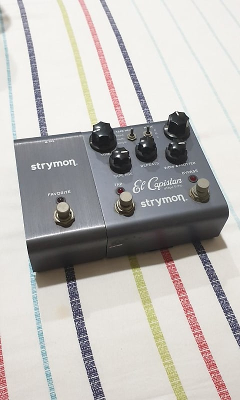 strymon el capistan dtape echo with favorite switch reverb. Black Bedroom Furniture Sets. Home Design Ideas
