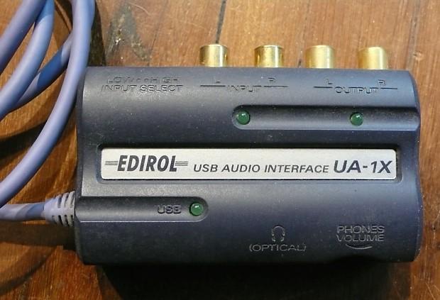 EDIROL 1X WINDOWS 7 X64 TREIBER