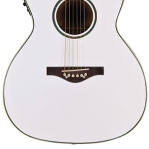 Daisy Rock Wildwood Acoustic/Electric Pearl White for sale